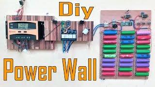 DIY Mini Power Wall | MakerMan