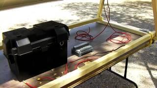 DIY Portable Solar Power Generator - Off-Grid Free Energy Generation
