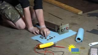Edison ED-240 full tear down and rebuild the solar power batteries