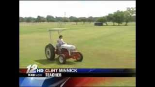 KXII News - Electric Ford 9N Farm Tractor