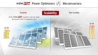 [Video] A comparison between SolarEdge power optimizers and microinverters - North America Version