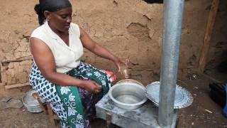Cooking with the Jiko Safi Jatropha Gasification Stove