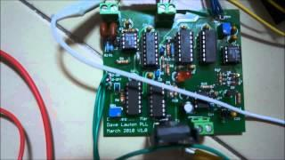 HHO Production using Dave Lawton Phase Lock Loop circuit