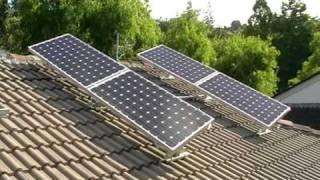 Solar Tracker System Tracking Sun