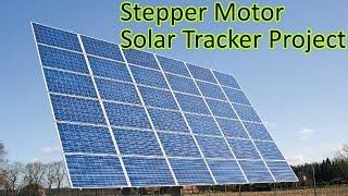 Ep. 56 Arduino based Solar Tracker - Stepper Motor & Light Resistor Tutorial