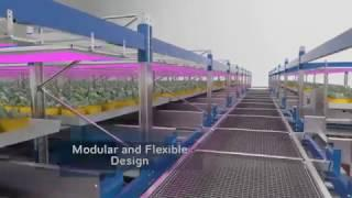 GreenCube Vertical Farming System
