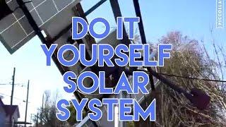 my solar tracker,  tracking system, sun power energy