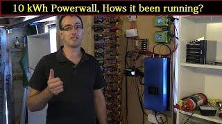 Mikes DIY Powerwall Update 54 - 10kWh Powerwall How's it been running?