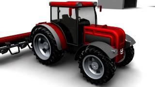 Peak Oil, Food Security and Amptrac the Electric Tractor.