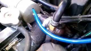 Thermal Activator Device Fitting video Hyundai Gietz GLS Petrol