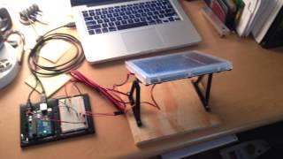 Sun-tracking solar panel
