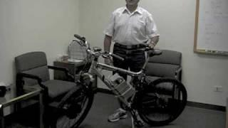 Electric Bike using Nilar Batteries