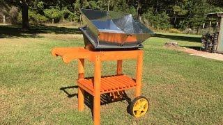 How to build a cart for your solar oven