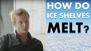 Antarctica's melting ice