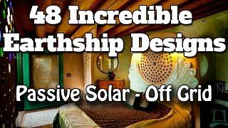 48 Incredible Earthship Passive Solar Off Grid Housing Design Projects - Earthship Biotecture