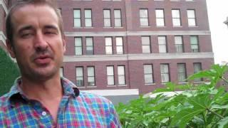 Michael Robertson on New York's Riverpark Urban Farm