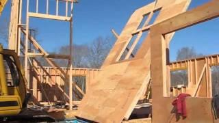 Net Zero Energy Home Construction - Foundation/Framing