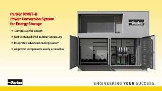 Parker 890GT-B Power Conversion System for Energy Storage