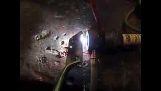 Plasma cutter from car spark plug.Plazmavágó gyújtógyertyából.