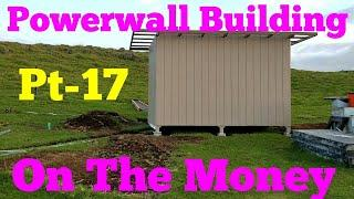 Solar Tesla Batteries Powerwall Building Pt-17