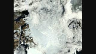Arctic sea ice melt 2012