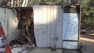 Scrap Metal Mobile Home Trailer | Greener Planet Matel Recycling
