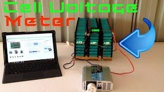 DIY Tesla Powerwall | Cell Volt Meter | Update 15