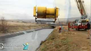 Yakima Chamber - Hydrovolts Turbine testing in the Yakima Valley
