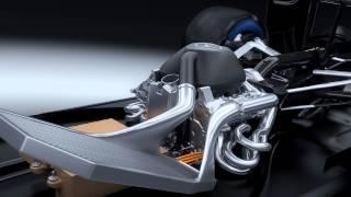 Mercedes Hybrid Power Unit PU106A for 2014 F1 season (3D animation)