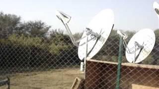 Infinia Solar Stirling engines @ SEC, New Delhi