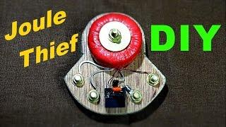 Make Joule Thief DIY-Circuit!