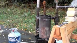 Bio-Char, Bio-Oil & Syngas from Wood Pyrolysis
