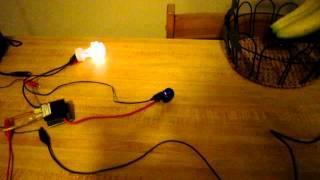 Joule thief arc speaker - Flyback plasma speaker