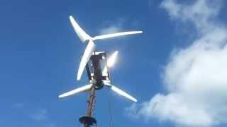Free energy from recycled motor , Diy  wind turbine improving with MOD's
