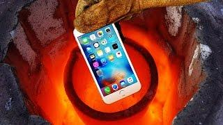 Smelting an iPhone 6s in 2600 Degrees Foundry!! Will It Completely Meltdown to Liquid Metal?
