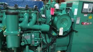 NEW Hydrogen Gas Fueled Power Plant Genset Generator 24 Hr Operations