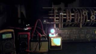 Monopole Motor/Generator/Radiant Energy - Light Test