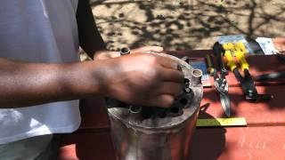 Testing the Jiko Safi Jatropha Gasification Stove