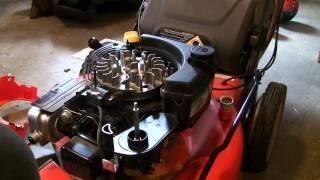 How to fix your lawn mower after hitting rock/stump (Briggs/Stratton EX Engine)