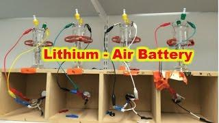 Cambridge Scientists bring Lithium-Air Batteries closer to Reality