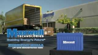 Maxwell Technologies Engine Start Module (ESM) Lift Gate Demonstration