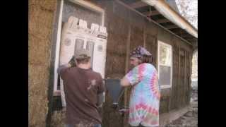 Straw Bale House Construction in South-Central Missouri