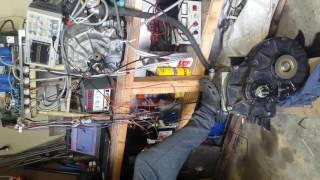 BMW E31 840CI EV Conversion 50 : Enova Motor Spinup
