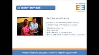Ice Energy Social Housing Air Source Heat Pumps Project
