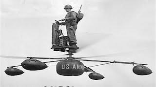 The HZ-1 Aerocycle - One of the First Personal Flying Machines
