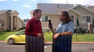 """Solar Panel"" roofing installation video"