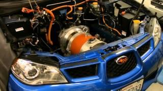 Electric Impreza: Pulling The Motor