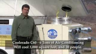Coolerado Solar Powered Air Conditioning Demonstrator