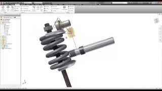 Autodesk Inventor - Compression Springs