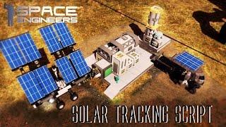 Space Engineers - Awesome Solar Tracking Script (Blueprint)